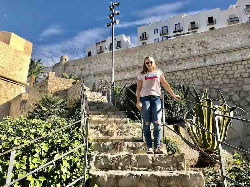 Besuch Burg Peñíscola