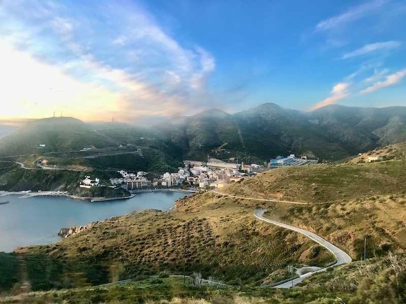 Route Frankreich Spanien