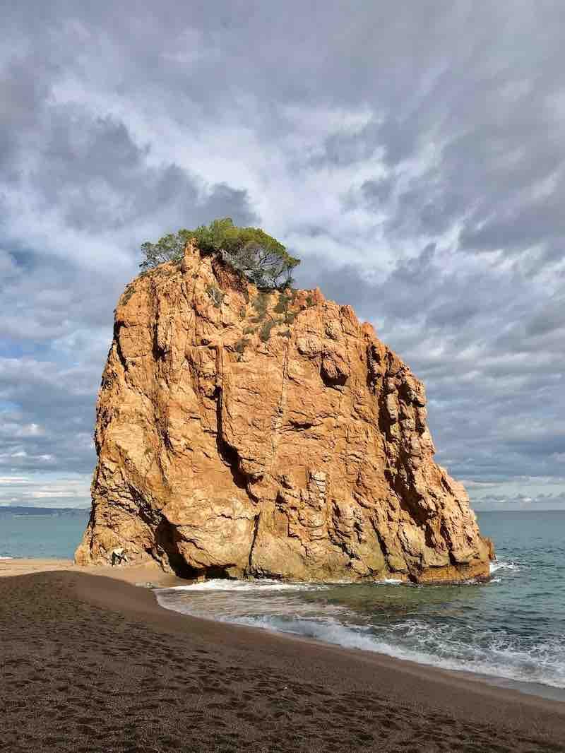Felsen Mittelmeer Vanlife Katalonien