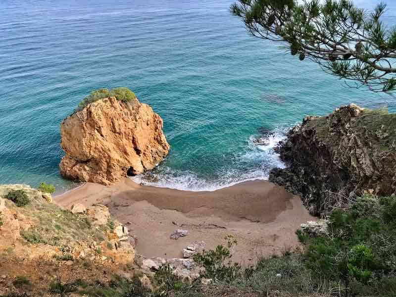 Mittelmeer Felsen