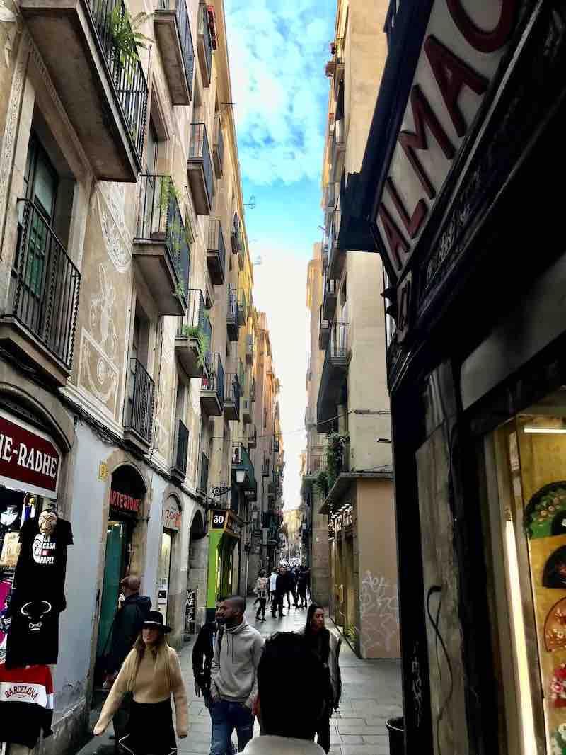 Barcelonas Gassen