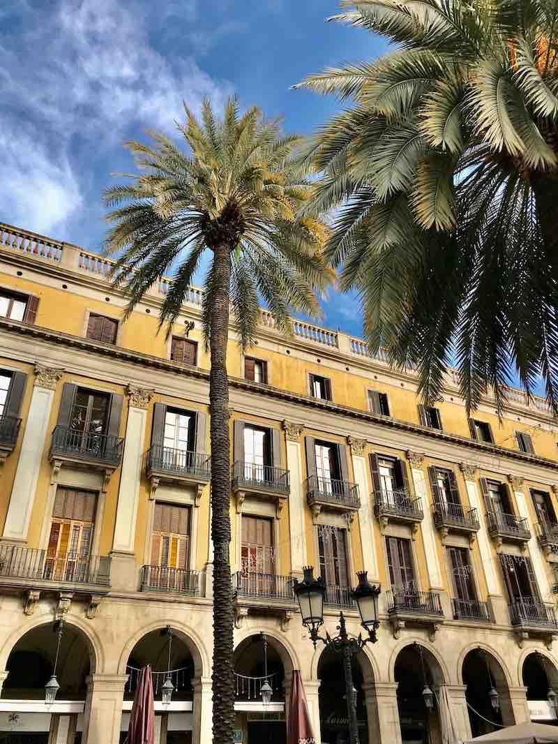 Innenhof Barcelona