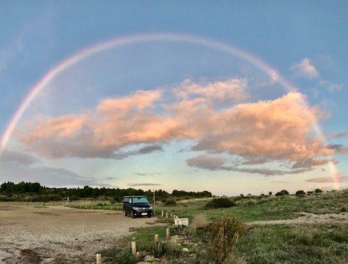 Leucate Regenbogen