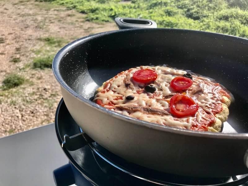 Pizza Pfanne Vanlife