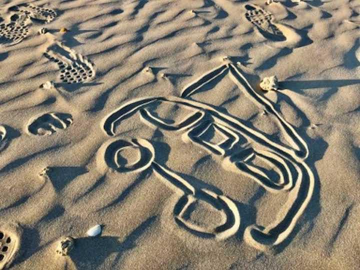Strand Fortignan Vanlife Kostenübersicht