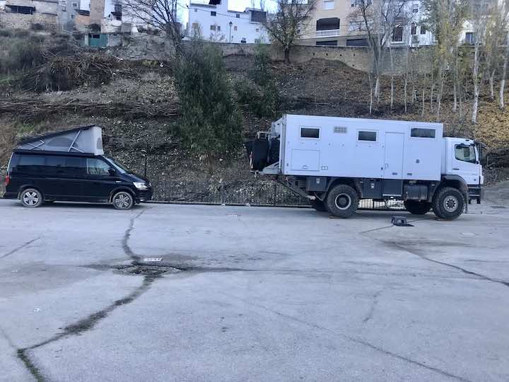 Bulli und Expeditionsmobil Vanlife in Andalusien
