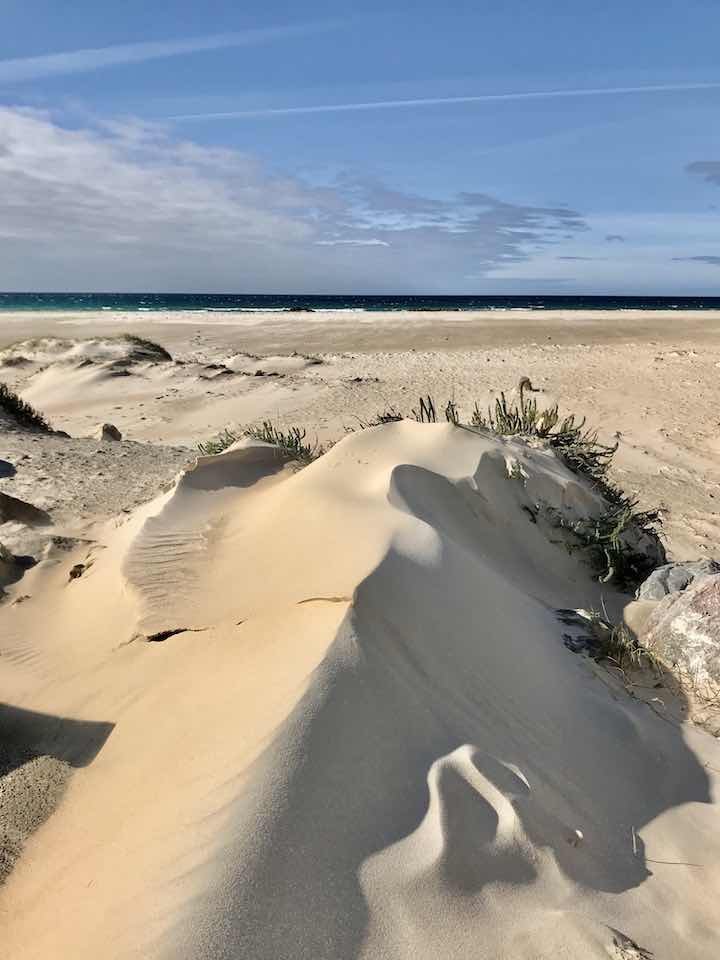 Düne am Strand von Tarifa