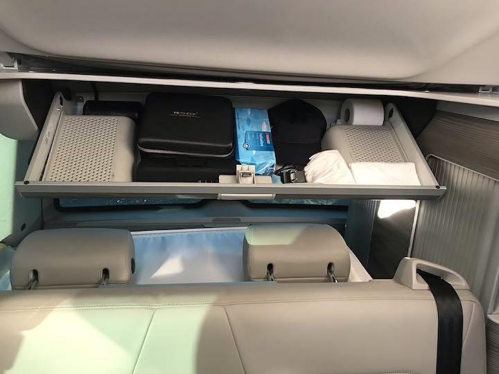 Dachstaufach VW Bus Stauraum