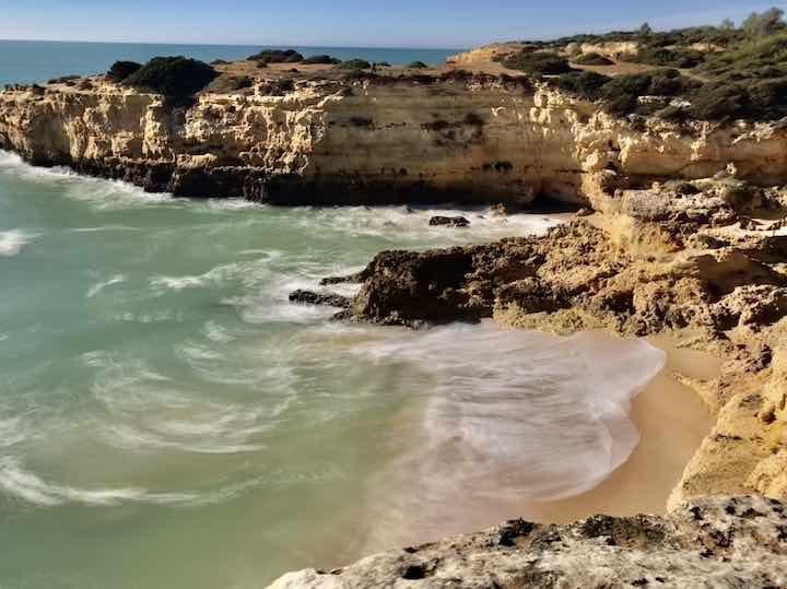 Felsformation Algarve