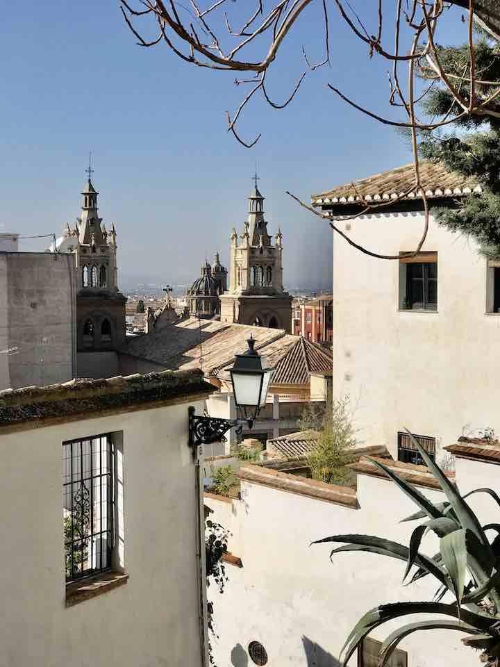 Gassen in Granada
