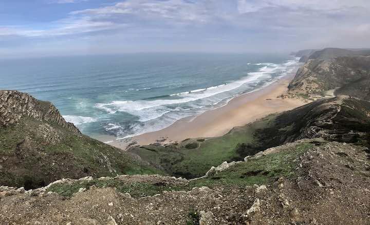 Grüne Klippen Algarve