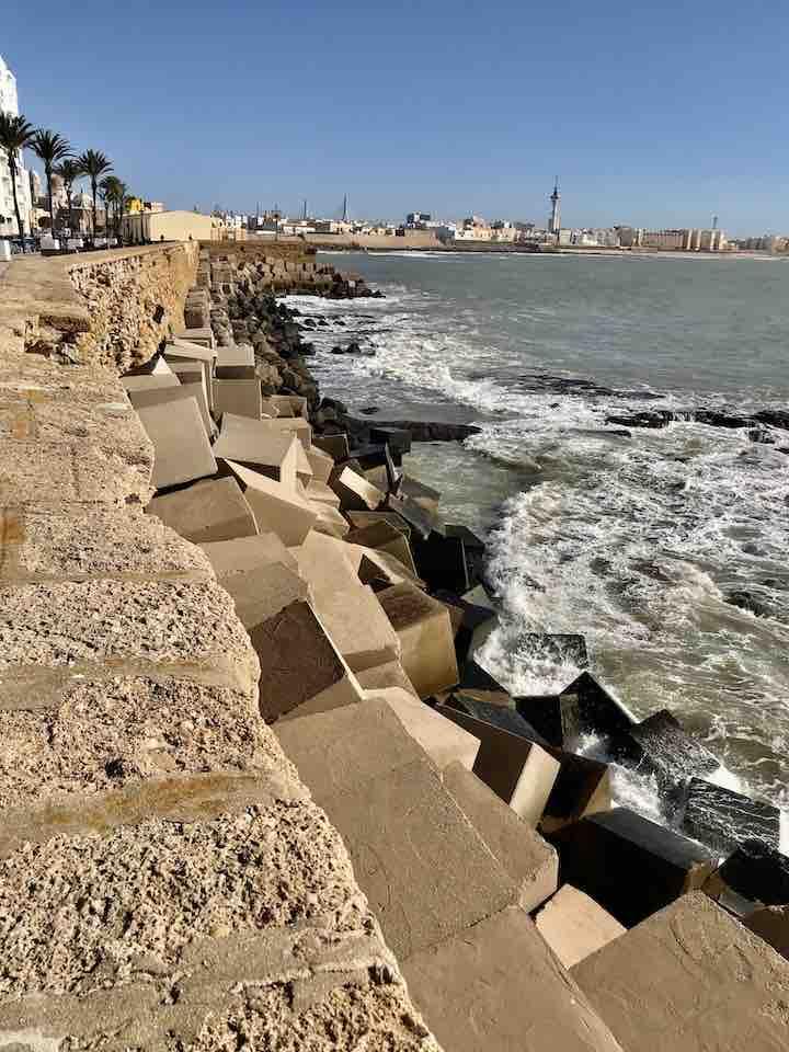 Hafen bei Cadiz