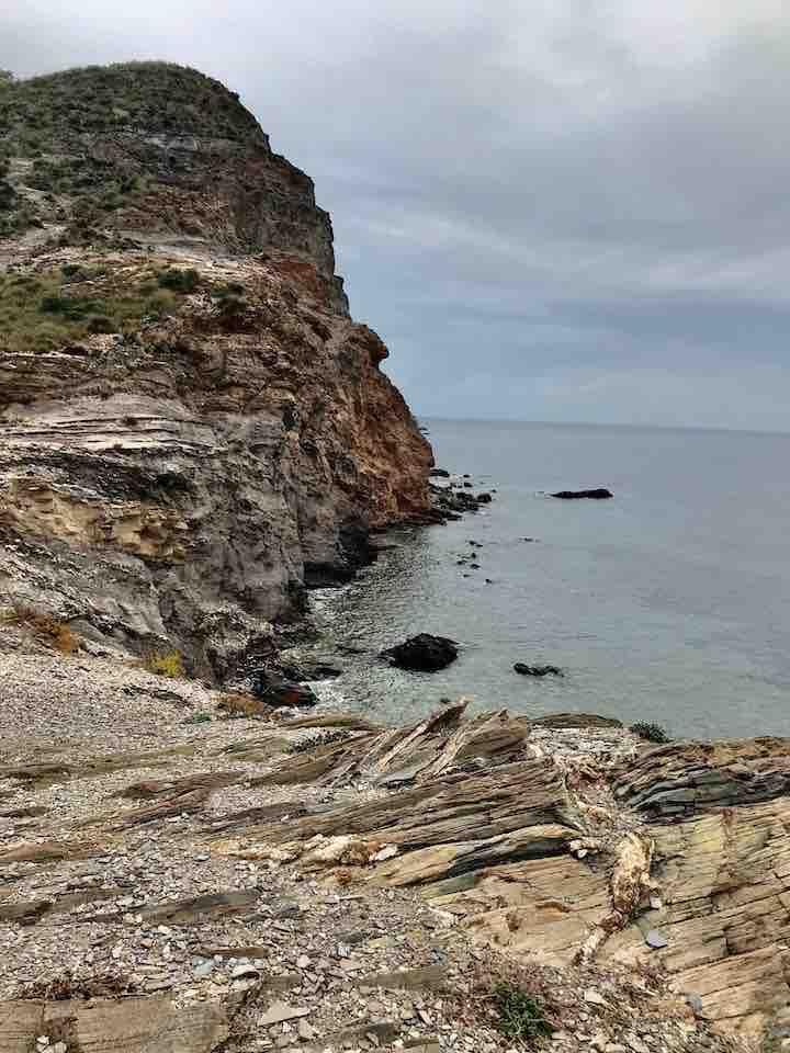 Klippen und Meer Águilas