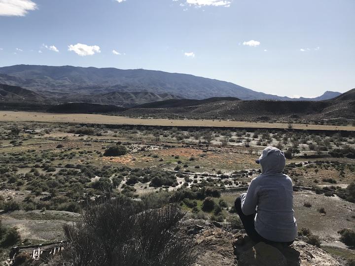 Aussicht Sierra Nevada