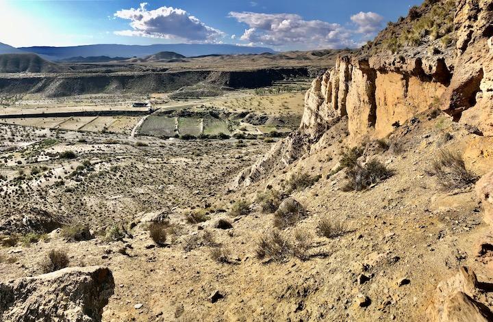 Steppe bei Sierra Nevada