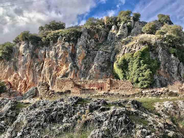 Felswand Sierra Huetor