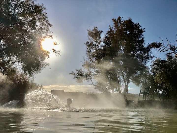 Heiße Quelle Santa Fe