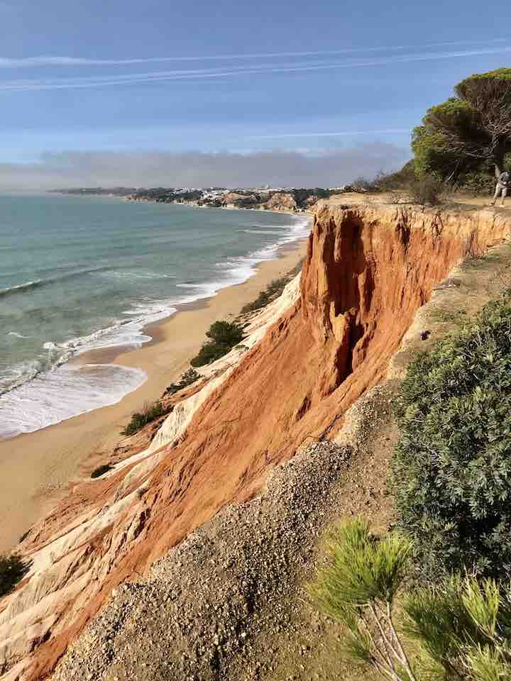 Klippen an der Algarve