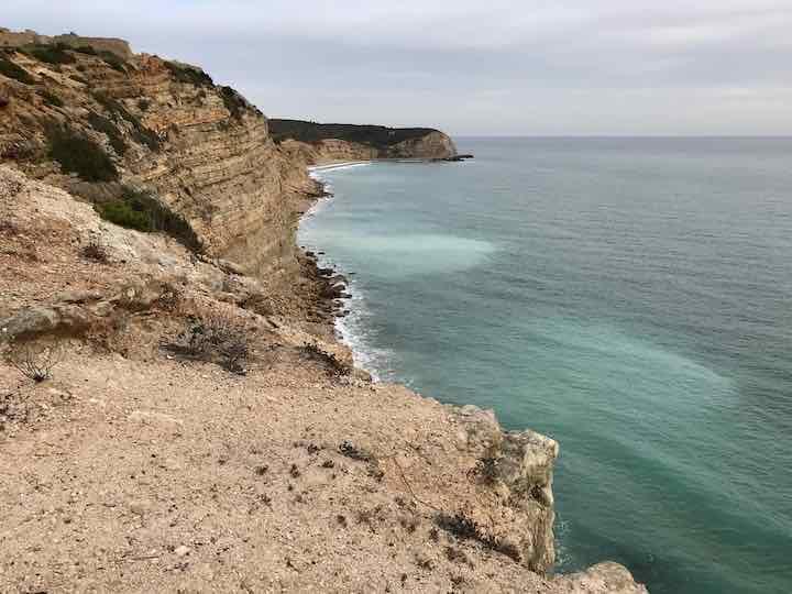 Klippenformation Algarve