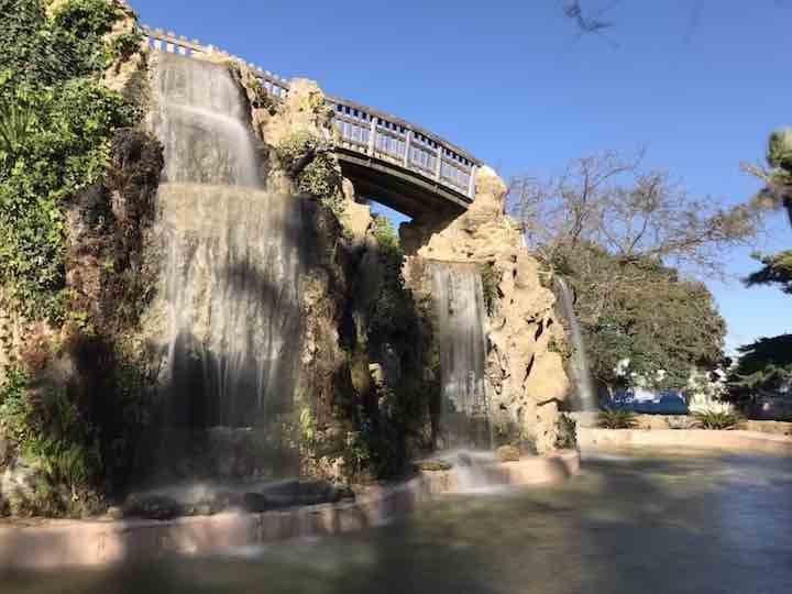 Park in Cadiz