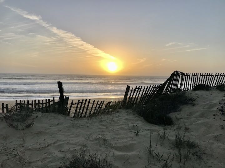 Sonnenuntergang bei Faro