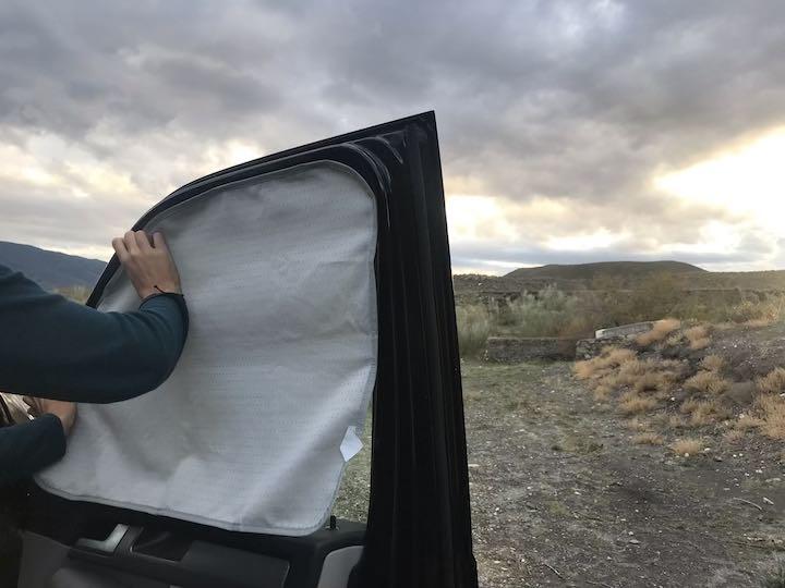 Verdunklung Fahrertür T6 California Ocean