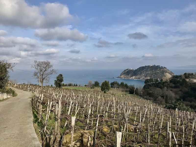 Aussicht Baskenland