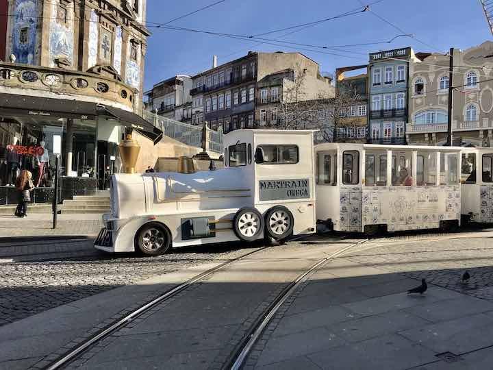 Bimmelbahn in Porto