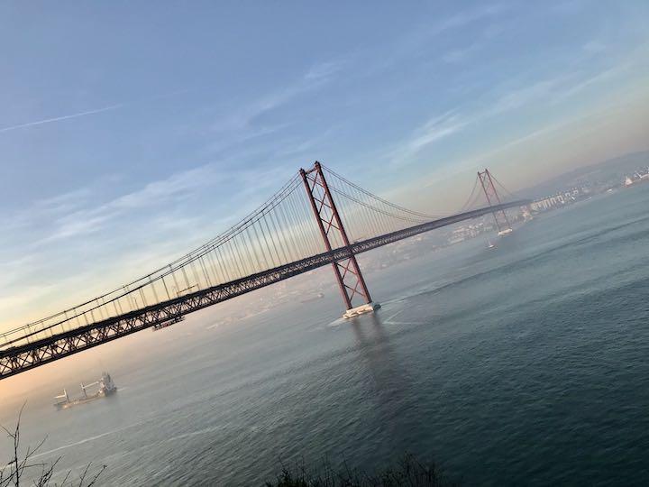 Brücke des 25. April Lissabon