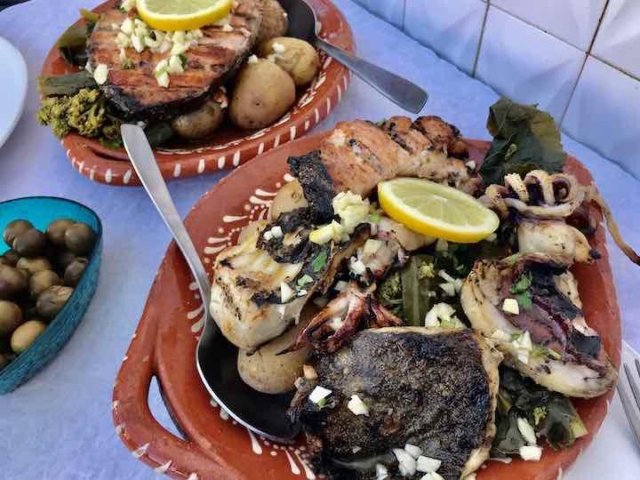 Fischessen Portugal