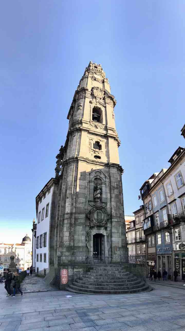 Höchster Glockenturm Porto