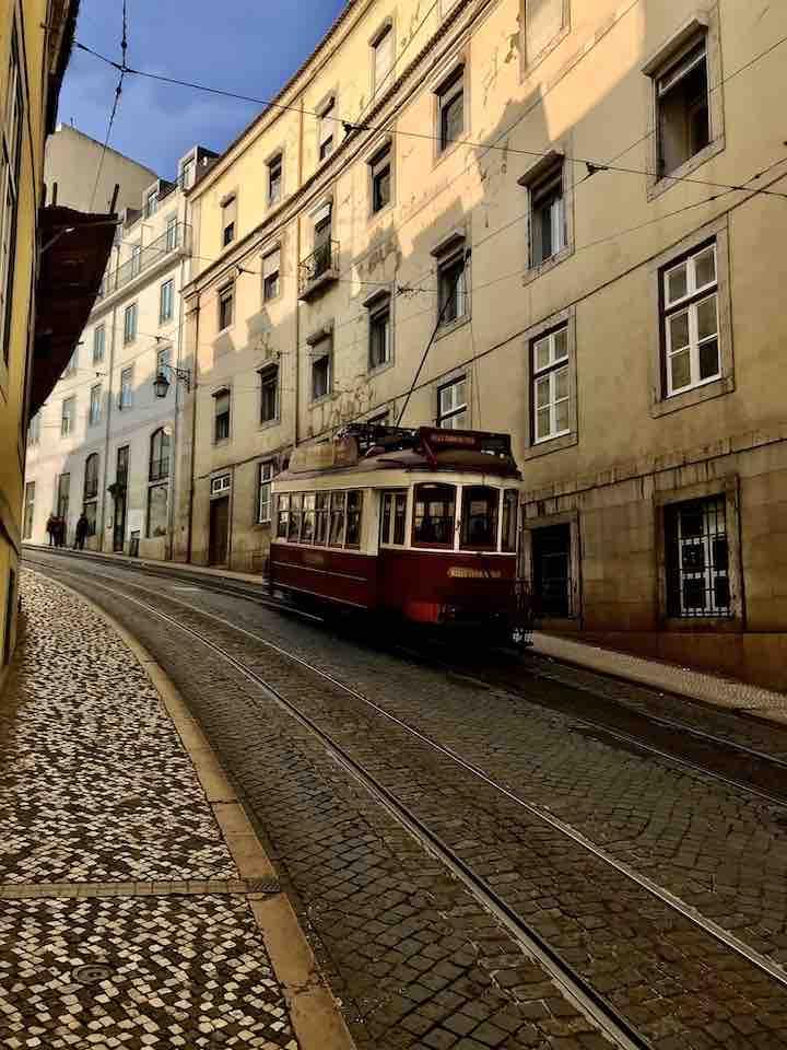 Historische Tram Lissabon