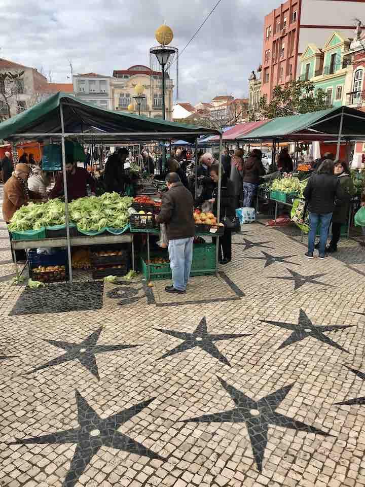 Markt in Caldas da Rainha