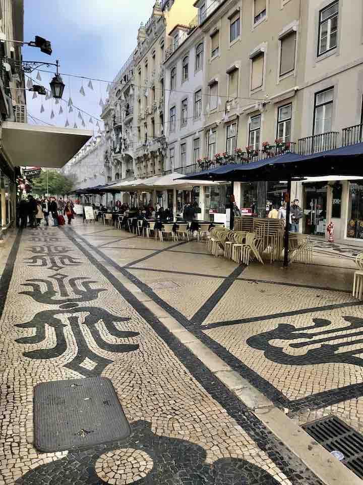 Muster Pflaster Lissabon