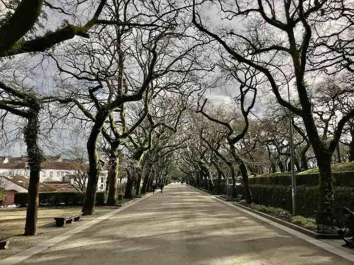 Parkanlage Santiago de Compostela
