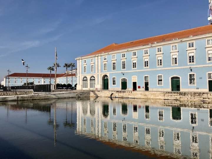 Spiegelung Lissabon