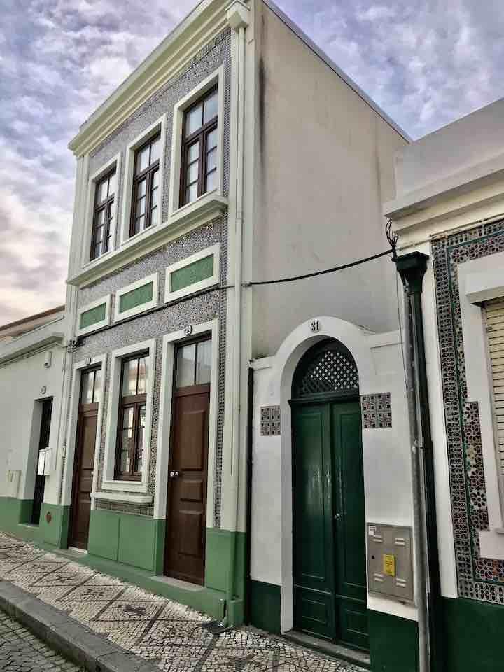 Typisch portugiesisches Haus
