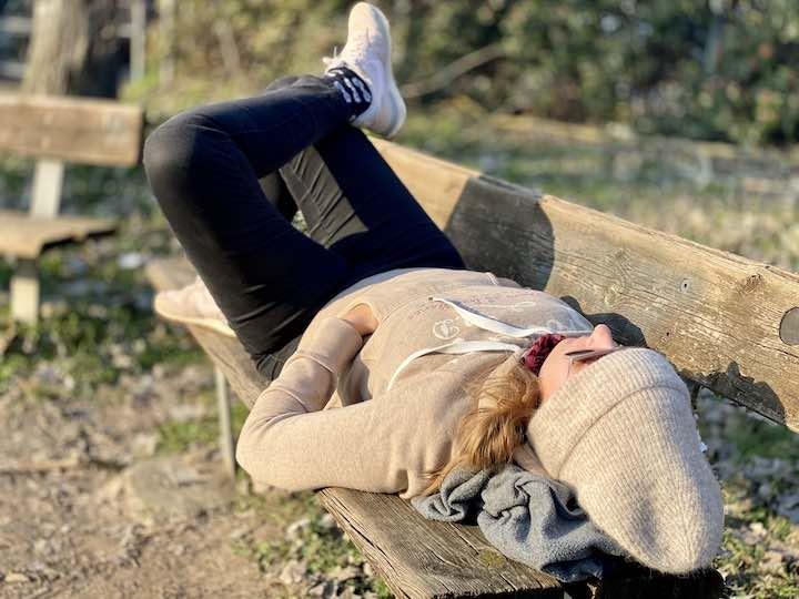 Entspannen in der Sonne
