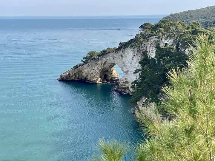 Felsen im adriatischen Meer