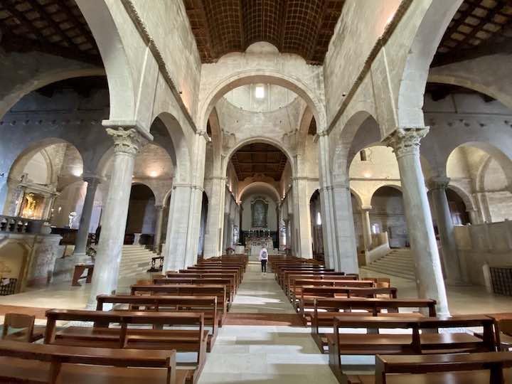 Kathedrale Ancona Innen