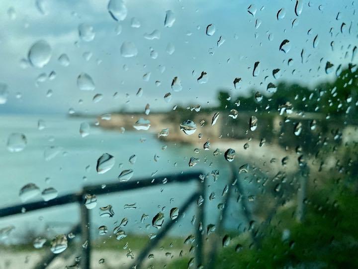Regen Vanlife Adriaküste