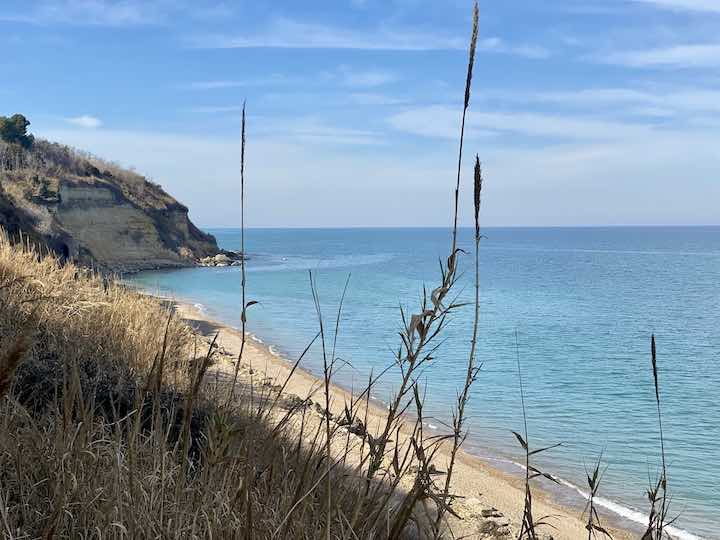 Strand Süditalien