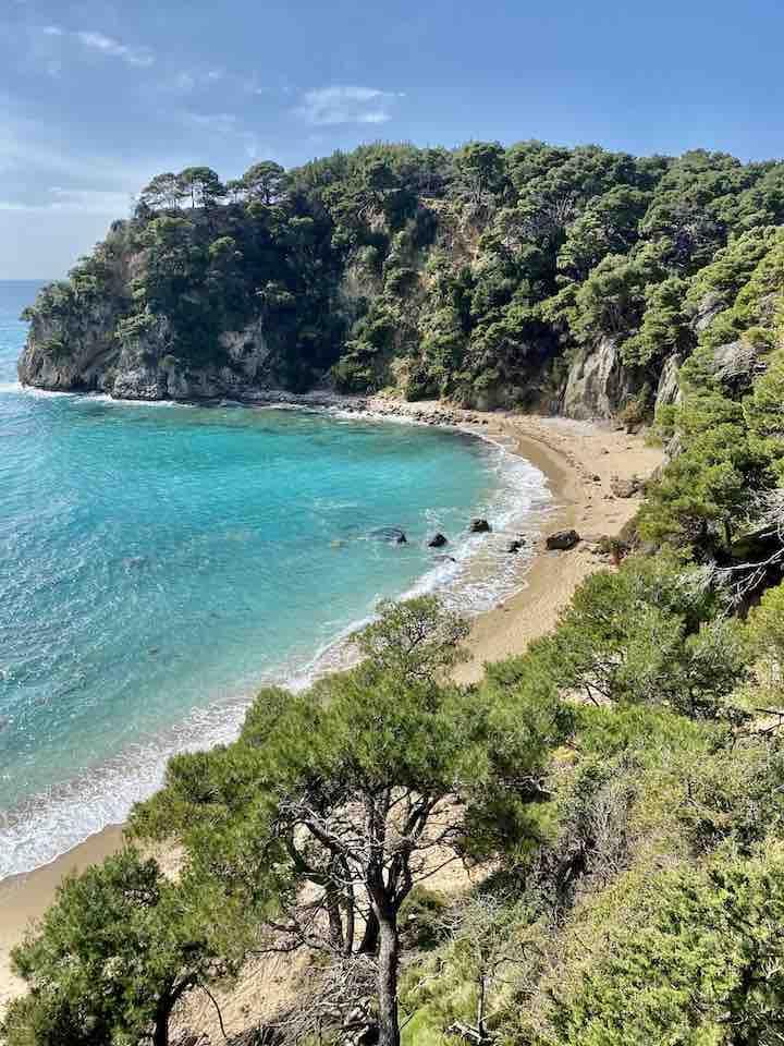 Bucht Kanali Griechenland