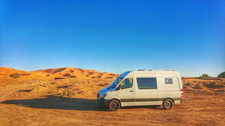 Campen in Marokko