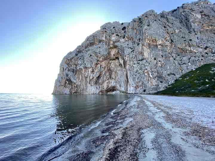 Felswand Kato Vasiliki