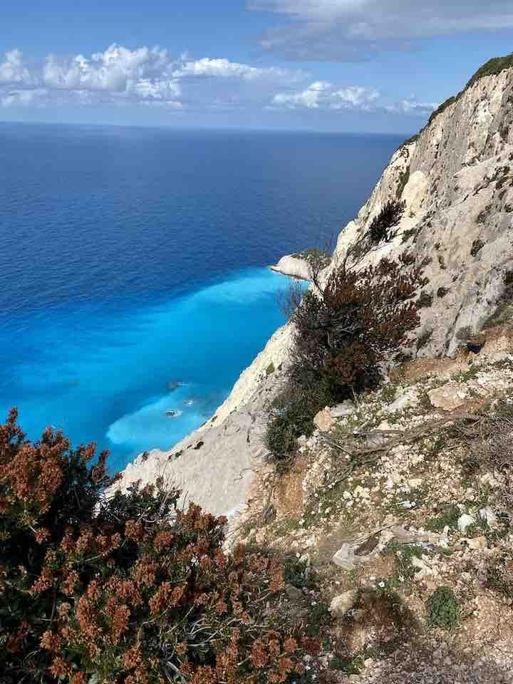 Meer auf Lefkada