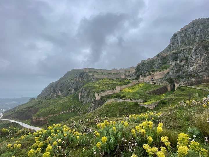 Burganlage bei Korinth