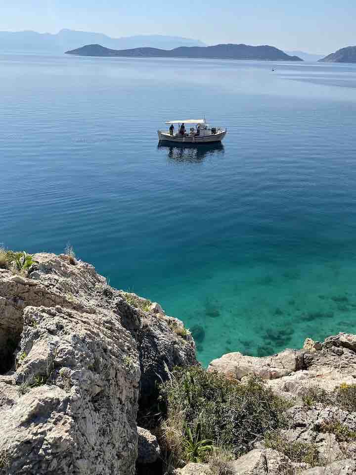 Fischerboot Thisvi