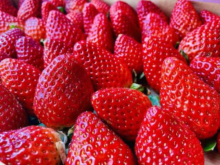 Griechische Erdbeeren