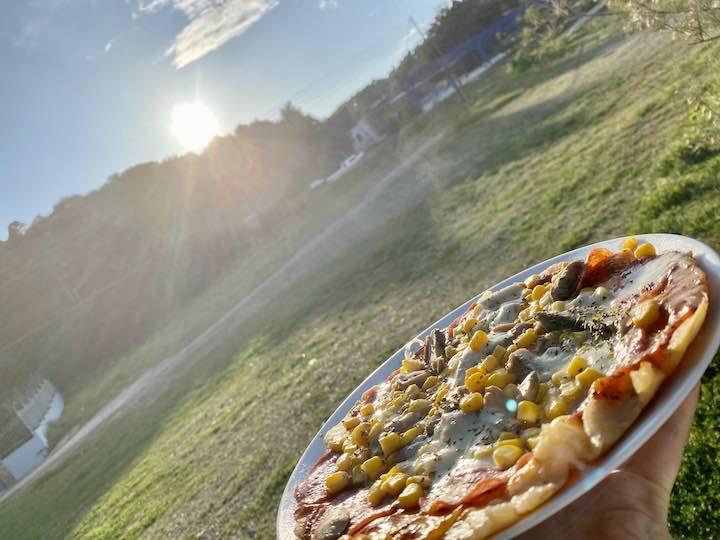 Pizza in Alkiona